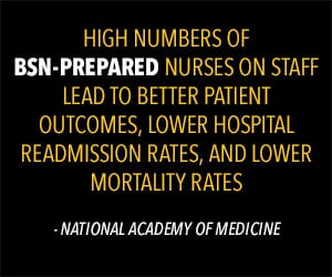 BSN nurses lead to better patient outcomes